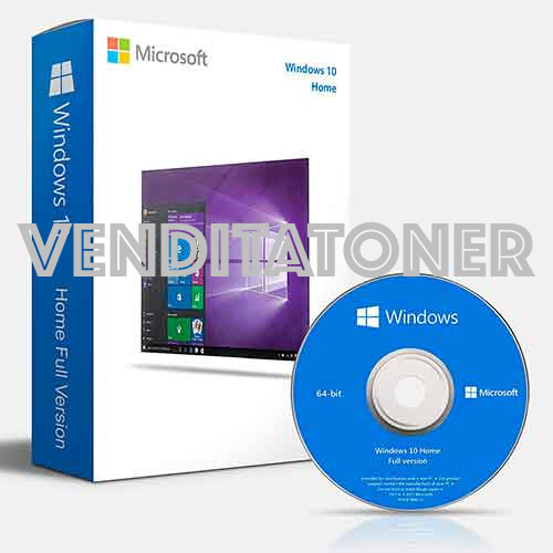 Microsoft Windows 10 HOME FPP 10 P2 32/64BIT ITA USB RETAIL